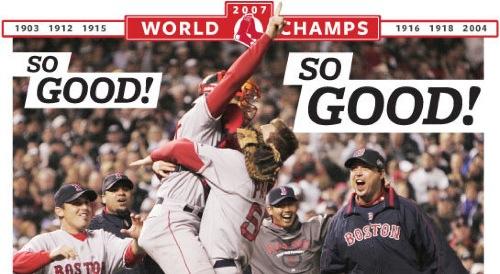 Boston.com Photo - World Series