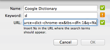 Add Dictionary Search Engine